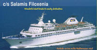 The Salamis Filoxenia, the new addition to the Salamis cruises fleet