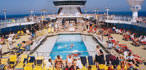 The Thompson Destiny has a wonderful swimming pool for you to cool off during your cruise.