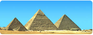 The pyramids of Egypt - cruise from Cyprus to see them.
