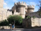 The Castle in Rhodes old town. A short walk from where your cruise ship will be docked. Click to enlarge this photo